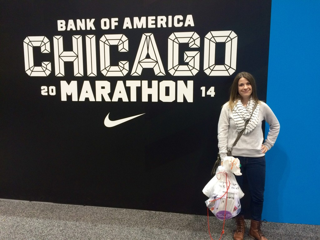 The 2014 Chicago Marathon, like it says.